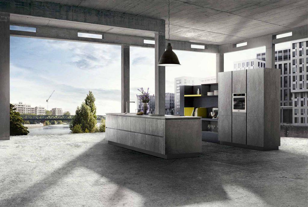 kueche beton 1 2015 keuken design. Black Bedroom Furniture Sets. Home Design Ideas