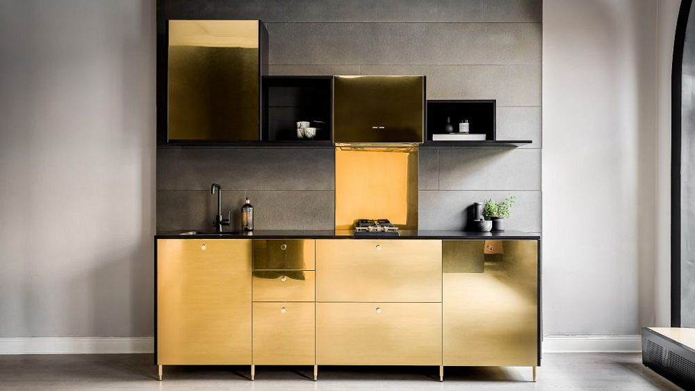 Voor Luxepaardjes Een Ikea Keuken Met Echt Gouden Finishing Keuken Design
